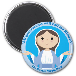 Blessed Virgin Mary Magnet