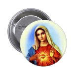 Blessed Virgin Mary - Mother of God 2 Inch Round Button