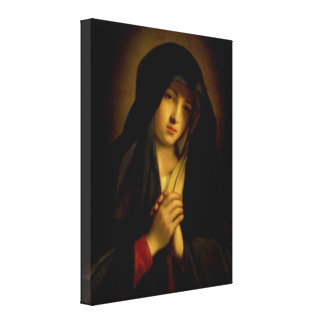 Blessed Virgin Mary - Mother of God Canvas Print