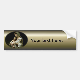 Blessed Virgin Mary - Mother of God Car Bumper Sticker