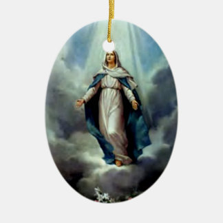 Blessed Virgin Mary - Mother of God Ceramic Ornament