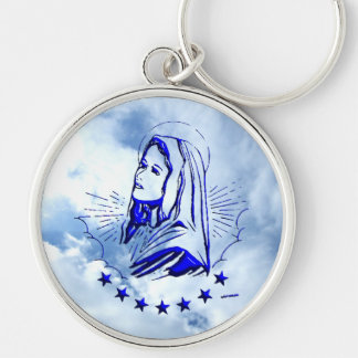 Blessed Virgin Mary - Mother of God Keychain