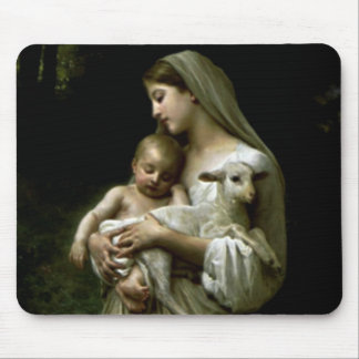 Blessed Virgin Mary - Mother of God Mouse Pad