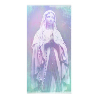 Blessed Virgin Mary Photo Card