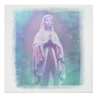 Blessed Virgin Mary Poster Perfect Poster