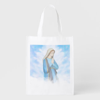 Blessed Virgin Mary Reusable Grocery Bag