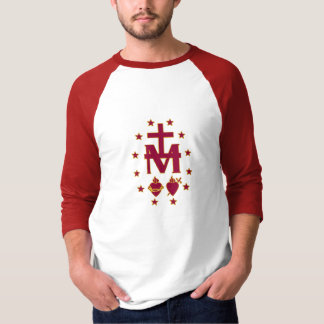 Blessed Virgin Mary Symbolism Tshirts