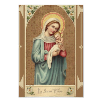 Blessed Virgin Mary with Baby Jesus NoteCard