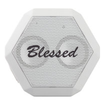Blessed White Bluetooth Speaker