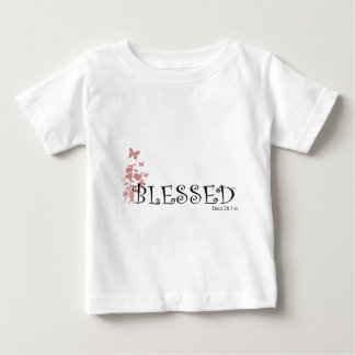 Blessed with butterflies t shirts