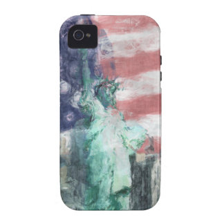 Blessed With Liberty Vibe iPhone 4 Covers