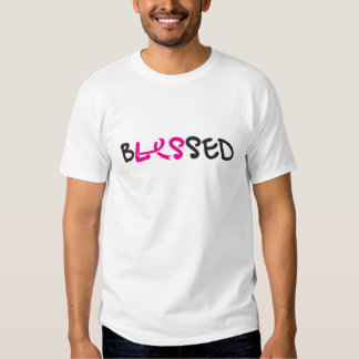 bLESsed wmns/white front&back Shirts