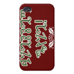 Blessed Yule; Green Theban Case For iPhone 4