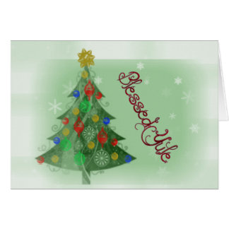 Blessed Yule (Holiday Card) Greeting Card