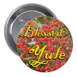 Blessed Yule (Winter Berries) Pins