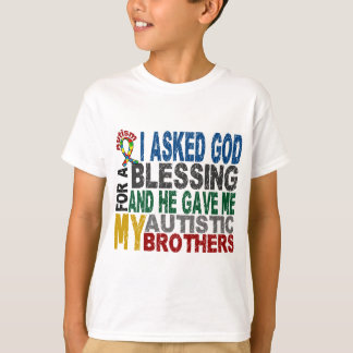 Blessing 5 BROTHERS Autism T-Shirts & Apparel
