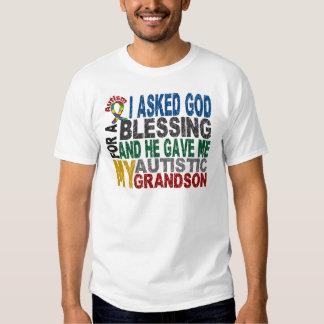 Blessing 5 GRANDSON Autism T-Shirts & Apparel