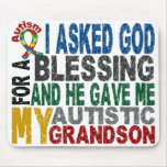 Blessing 5 GRANDSON Autism T-Shirts & Apparel Mouse Pad