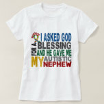 Blessing 5 NEPHEW Autism T-Shirts & Apparel