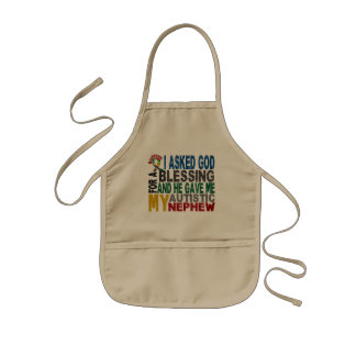 Blessing 5 NEPHEW Autism T-Shirts & Apparel Apron