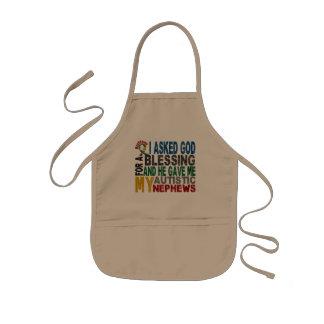 Blessing 5 NEPHEWS Autism T-Shirts & Apparel Apron