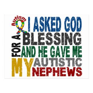 Blessing 5 NEPHEWS Autism T-Shirts & Apparel Postcard