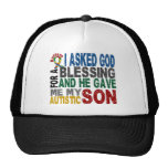 Blessing 5 SON Autism T-Shirts & Apparel Hat