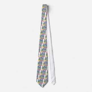 Blessing 5 STUDENTS Autism T-Shirts & Apparel Tie