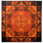 Blessing Abstract Art Napkin
