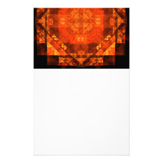 Blessing Abstract Art Stationery