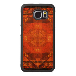 Blessing Abstract Art Wood Phone Case