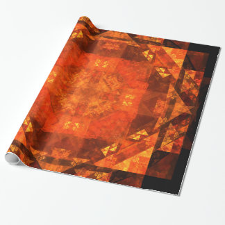 Blessing Abstract Art Wrapping Paper