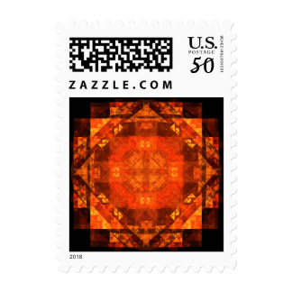 Blessing Abstract Postage Stamp