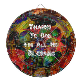Blessing and happy Thanksgiving Dartboard With Darts