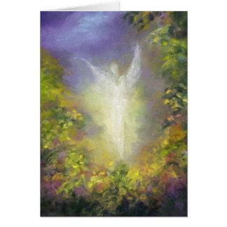 Blessing Angel Fine Art Greeting Card