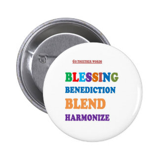 Blessing Benediction Blend Harmonize Christ BABY Pins