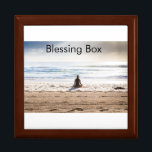 "Blessing Box<br><div class=""desc"">Write your worry or your goal on a piece of paper and put it in the box.  I have blessed it with Pure Source Energy and Pure Love and Light</div>"
