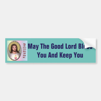 Blessing bumper sticker
