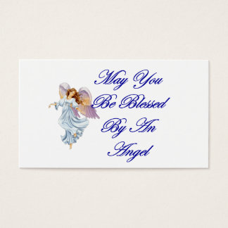 Blessing Cards - May You Be Blessed By An Angel