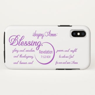 Blessing iPhone XS Case