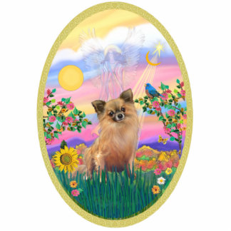 Blessing - Chihuahua (Lg Haired) Cutout