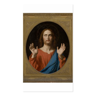 Blessing Christ circa 1834 Business Cards
