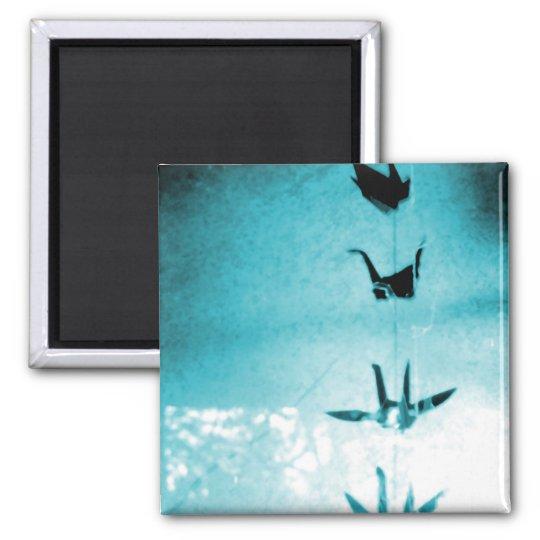 Blessing Cranes Magnet