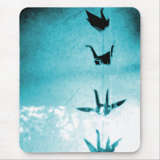 Blessing Cranes Mouse Pad