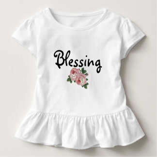 Blessing Floral Ruffled T-Shirt