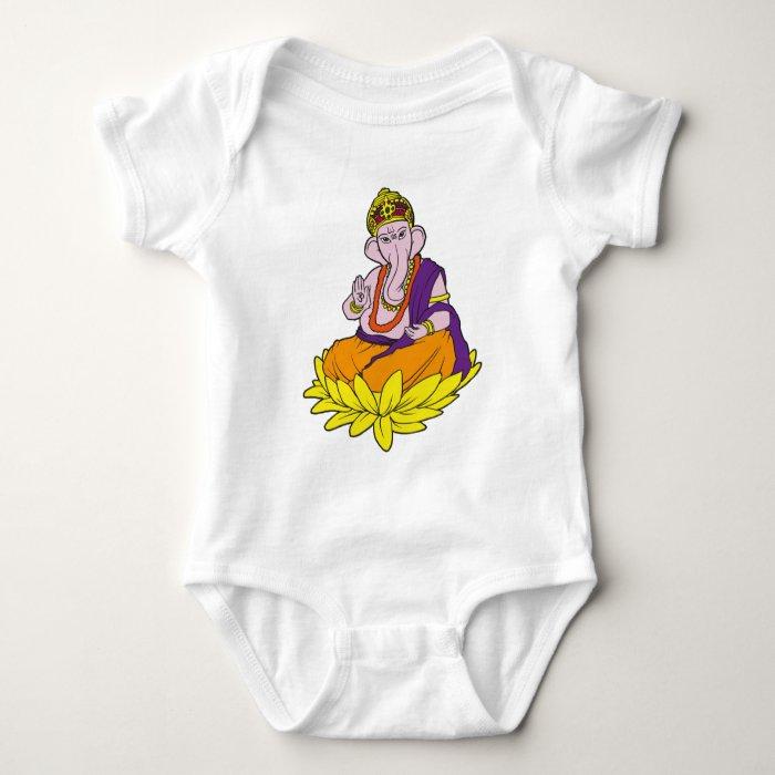 Blessing Ganesha Baby Bodysuit
