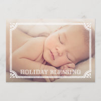 Blessing | Holiday Birth Announcement