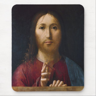 Blessing of Christ 15th Century Mouse Pad