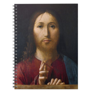 Blessing of Christ 15th Century Notebook