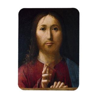 Blessing of Christ 15th Century Rectangular Photo Magnet